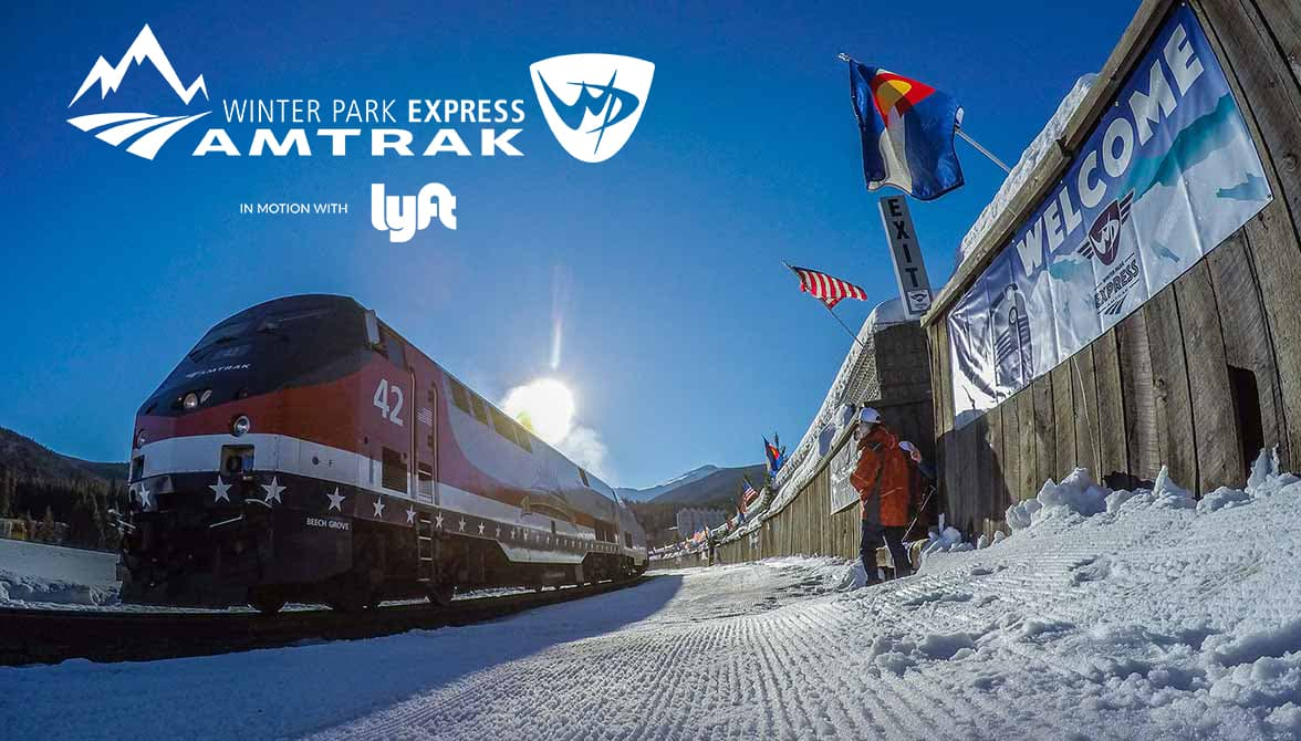 Winter park express in motion with lyft