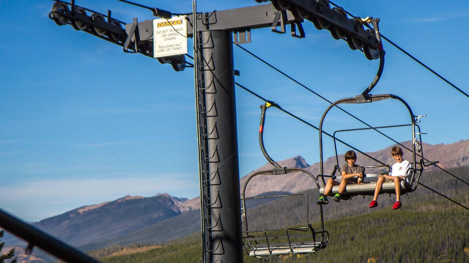 gopro jetsetter chairlift elite lift sunshine village chair town teepee heated
