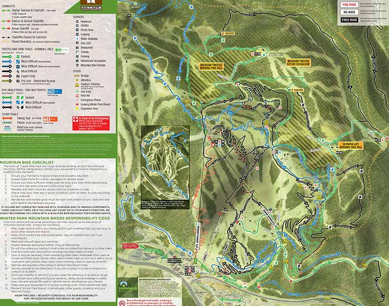 Trestle Trail Map
