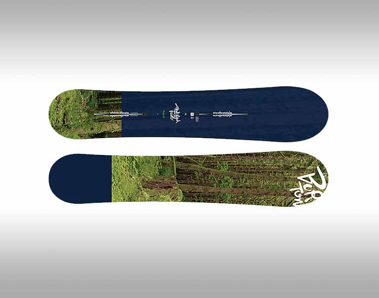 Men 39 s demo snowboard packages for Burton modified fish