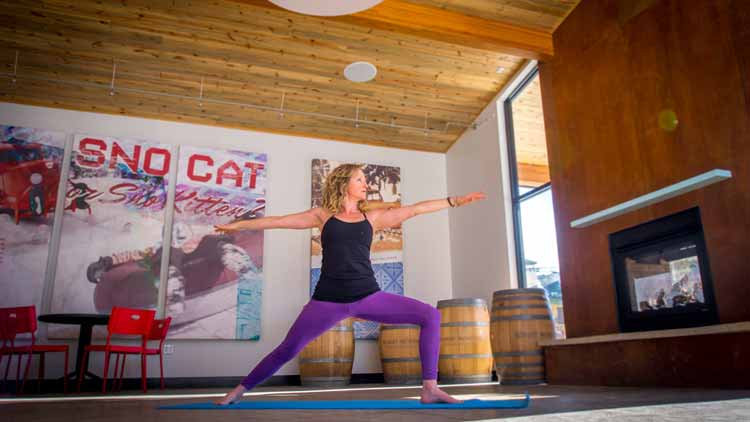 Yoga at Winter Park Resort